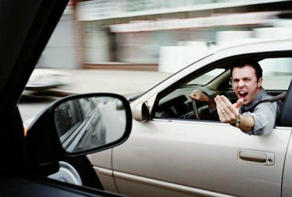 خشم در رانندگی