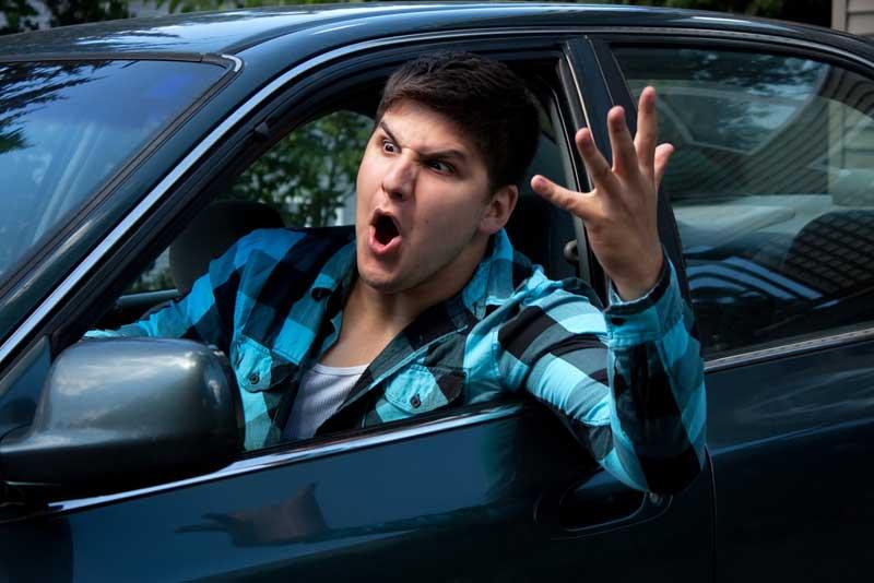 پرخاشگری در رانندگی