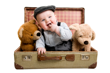 مسافرت کودک